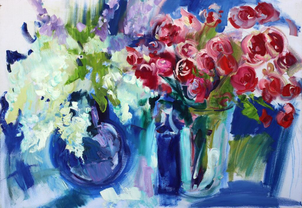 Stillleben mit Blumen